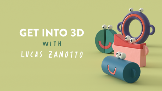 Get into 3D with Lucas Zanotto