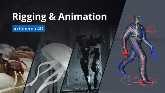 Rigging and Animation in Cinema 4D