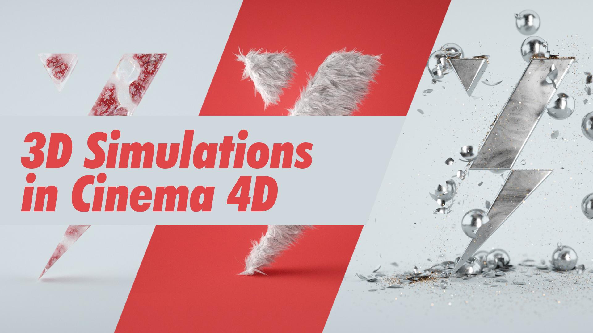 3D Simulations in Cinema 4D