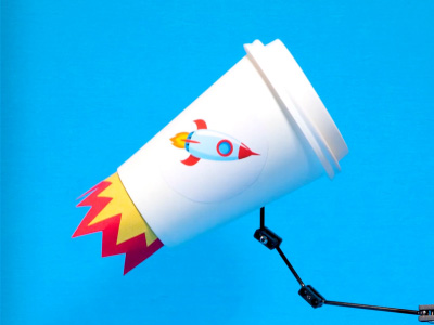 Coffee Cup Advertisement (Part 1)