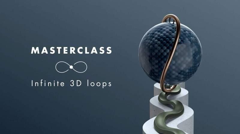 Cinema 4D Infinite 3D Loops