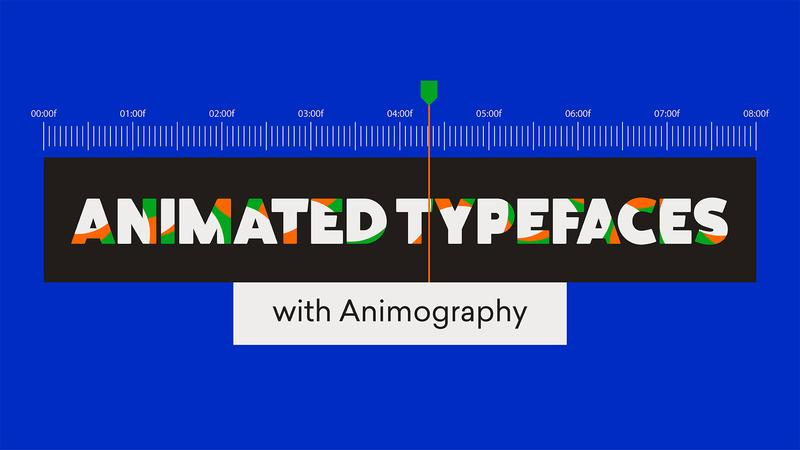 Animated Typefaces with Animography