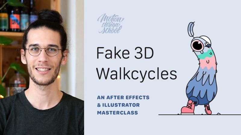 Fake 3D Walkcycles in After Effects