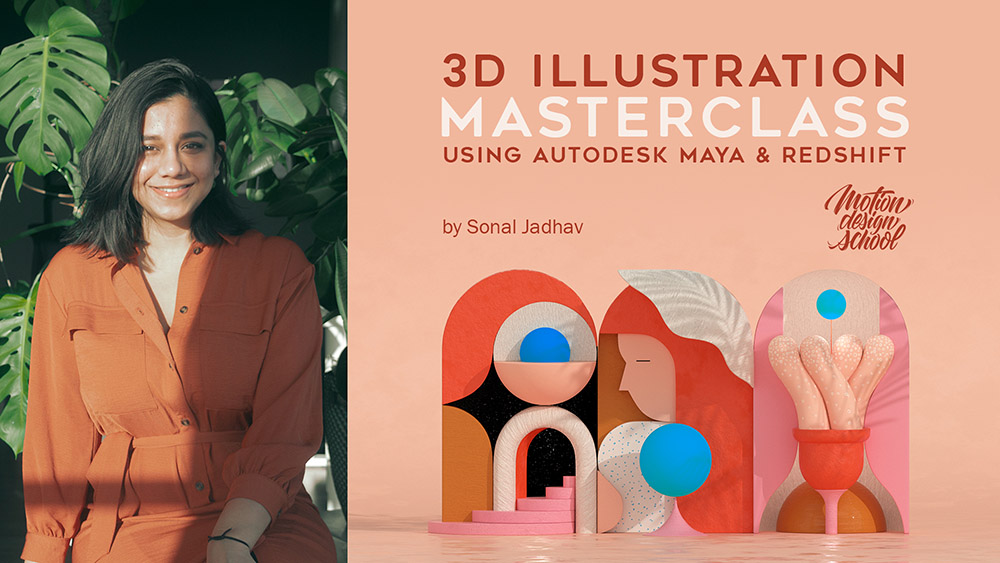3D Illustration using Autodesk Maya