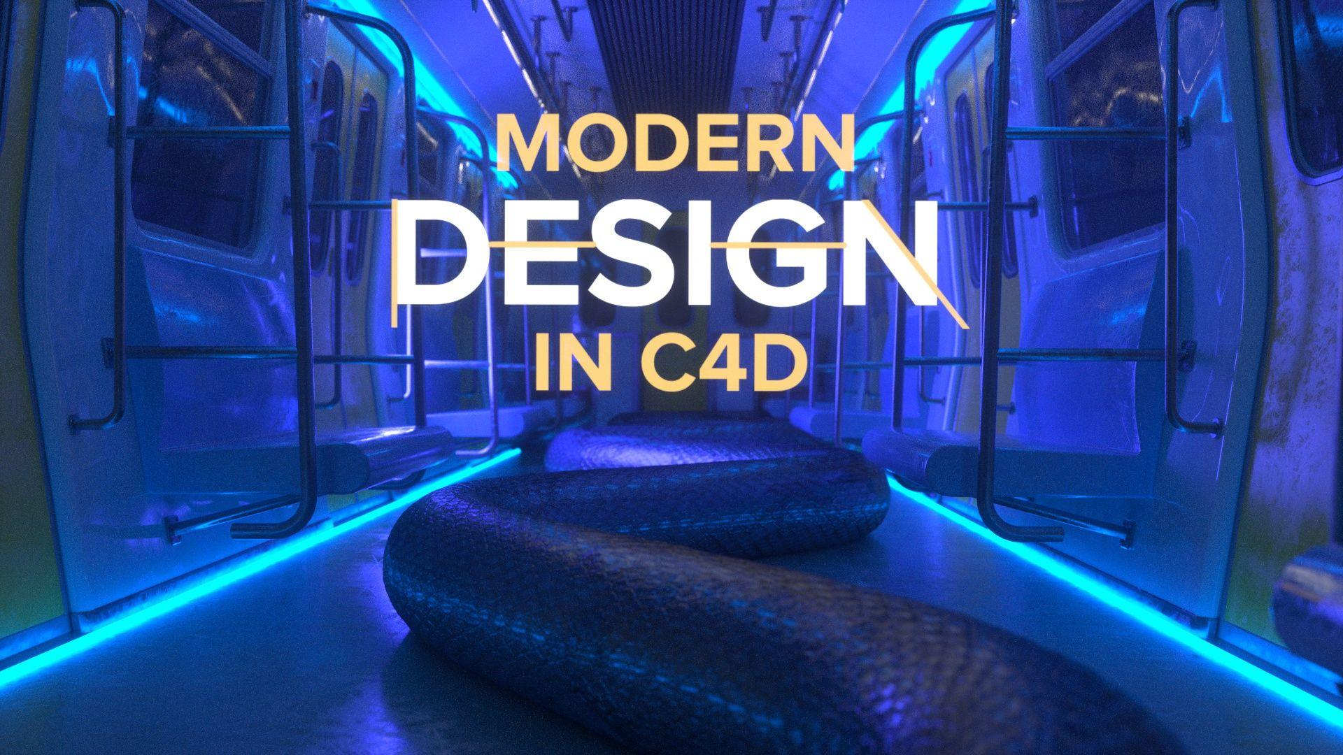 Modern Design in Cinema 4D