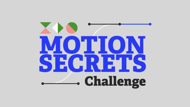 Motion Secrets Challenge